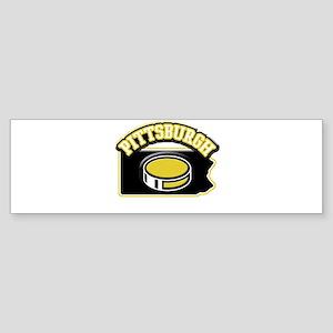 Pittsburgh Hockey Bumper Sticker