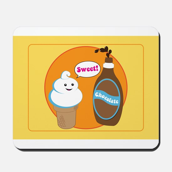 Ice Cream & Chocolate Mousepad
