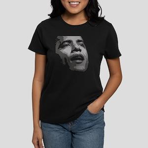 OBAMA-for dark t Women's Dark T-Shirt