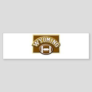 Wyoming Football Bumper Sticker
