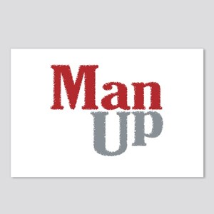 Man Up Postcards (Package of 8)