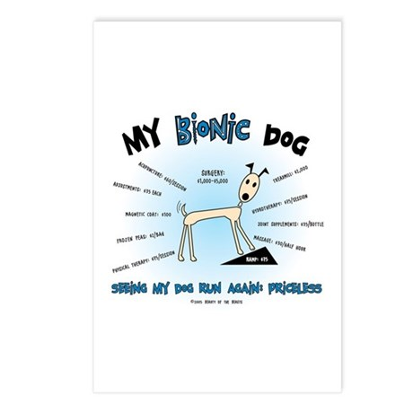 Bionic Dog Postcards (Package of 8)