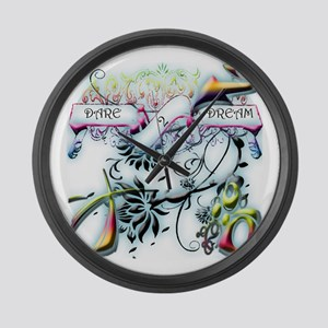 DARE2DREAM Large Wall Clock