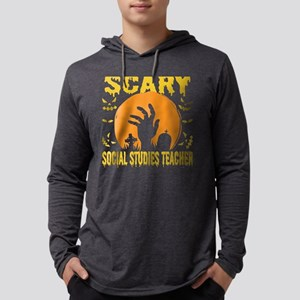 This Is My Scary Social Studie Long Sleeve T-Shirt