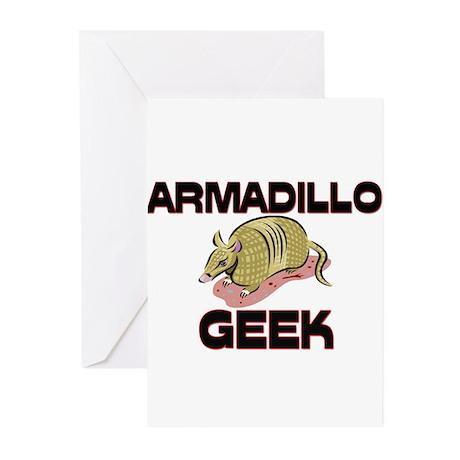 Armadillo Geek Greeting Cards (Pk of 10)