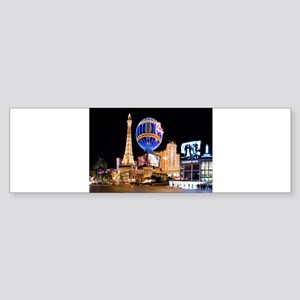 Paris Las Vegas Bumper Sticker