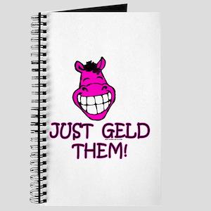 Just Geld Them, Horse Journal