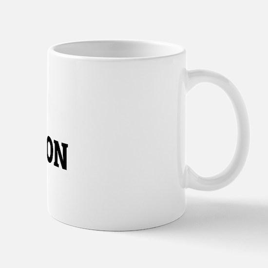 I Love Russian Don Horses Mug