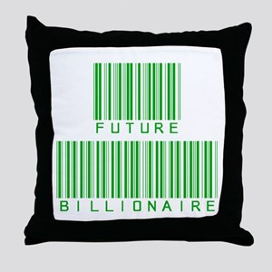 Future Billionaire Throw Pillow