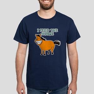 I Feed The Horse Dark T-Shirt