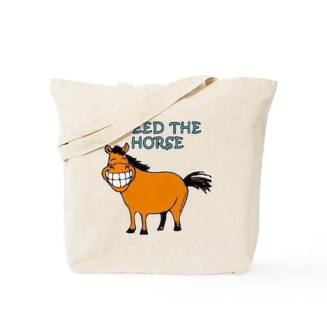 I Feed The Horse Tote Bag