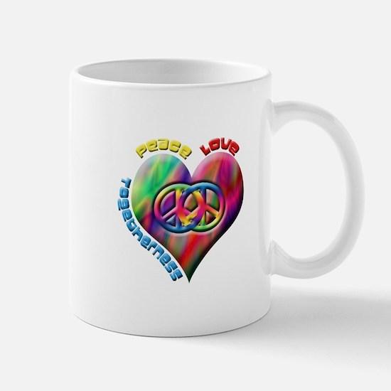 Peace Love Togetherness Mug