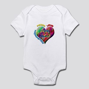 Peace Love Togetherness Infant Bodysuit