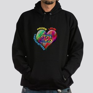 Peace Love Togetherness Hoodie (dark)