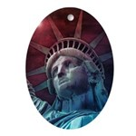 In God We Trust Oval Ornament