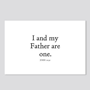 JOHN  10:30 Postcards (Package of 8)