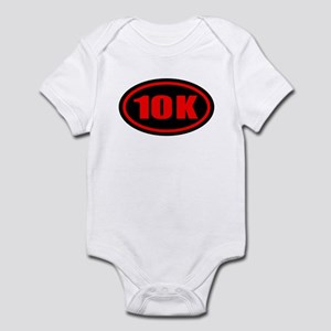 10 K Runner Oval Infant Bodysuit