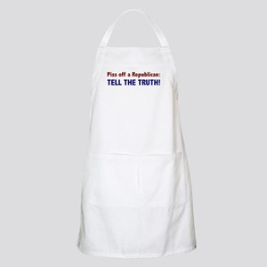 Tell the Truth! BBQ Apron