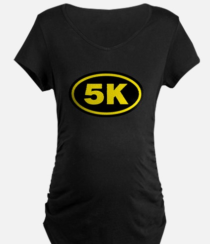 5 K Runner Oval T-Shirt