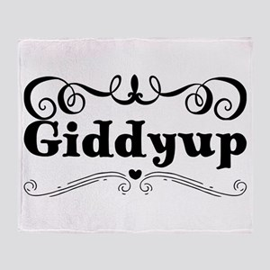 Giddyup Throw Blanket