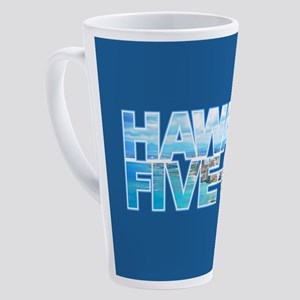 Hawaii Five 0 17 oz Latte Mug