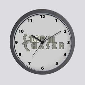 Storm Chaser 4 Wall Clock