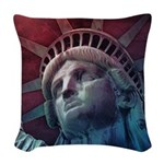 In God We Trust Woven Throw Pillow