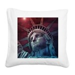 In God We Trust Square Canvas Pillow