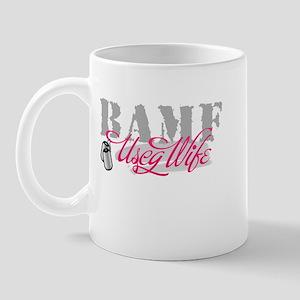 BAMF USCG Wife Mug