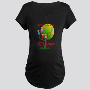 NICU Nurse Maternity Dark T-Shirt