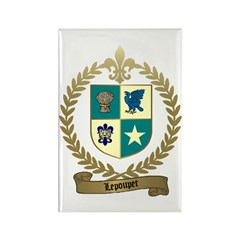 LEPOUPET Family Crest Rectangle Magnet