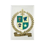 LEPOUPET Family Crest Rectangle Magnet (100 pack)