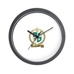 LEPOUPET Family Crest Wall Clock