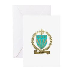 LEPRIEUR Family Crest Greeting Cards (Pk of 10