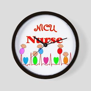 MORE NICU Nurse Wall Clock
