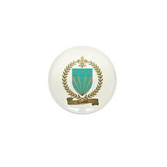 LEPRIEUR Family Crest Mini Button (10 pack)