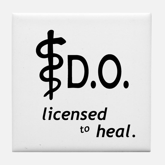 Osteopathic Tile Coaster