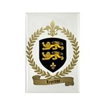 LEPRINCE Family Crest Rectangle Magnet (100 pack)