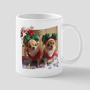 Chihuahua Xmas Mug