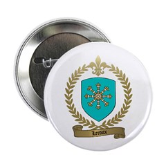 LEROUX Family Crest Button