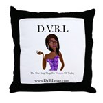 The D.V.B.L. Network Throw Pillow