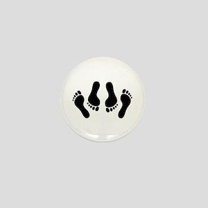 Happy Feet Mini Button