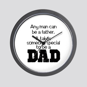 Special Dad Wall Clock