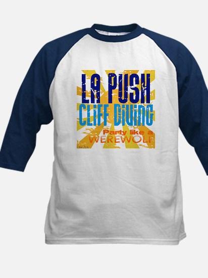 La Push Cliff Diving Kids Baseball Jersey