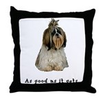 Good Shih Tzu Throw Pillow