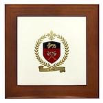 LEROY Family Crest Framed Tile