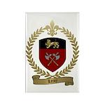 LEROY Family Crest Rectangle Magnet (100 pack)