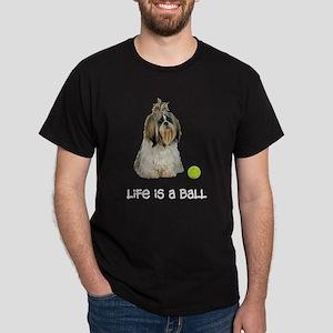 Shih Tzu Life Dark T-Shirt