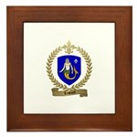 LESOURD Family Crest Framed Tile