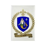 LESOURD Family Crest Rectangle Magnet (10 pack)